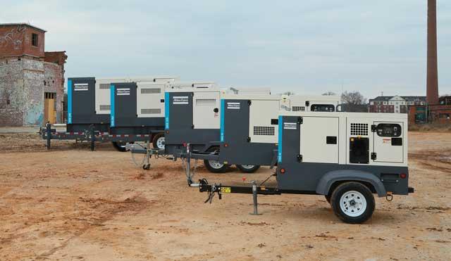 Atlas Copco QAS generator