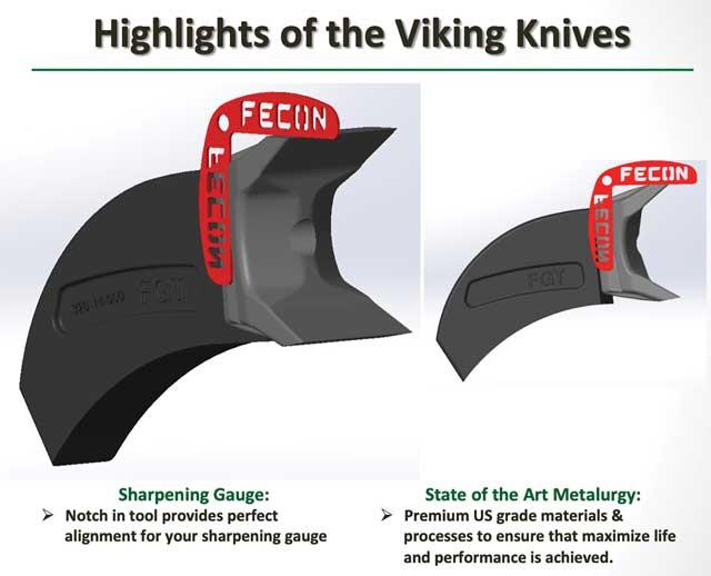 highlights of the viking knives