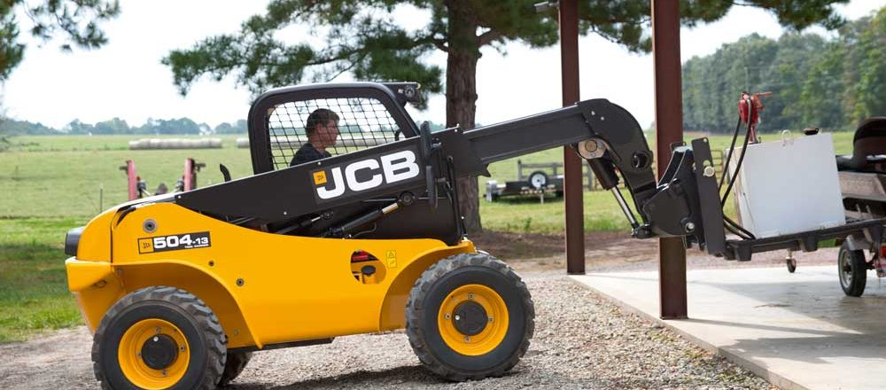 JCB touts ground-engaging telehandlers
