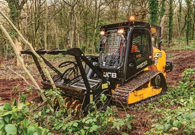 JCB track loader