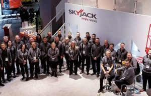 Skyjack Showcases New Models and New Technology at bauma Munich