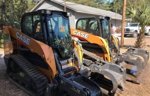 CASE Dealer Border Equipment Provides Two Track Loaders to Help Team Rubicon with Patriot South National Training Exercise