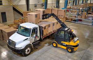 JCB Launches LPG-Fueled Teletruk Forklifts in North America