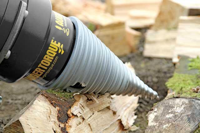 Auger Torque Log Splitter