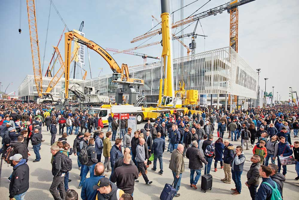 bauma, Munich, Germany, 2019