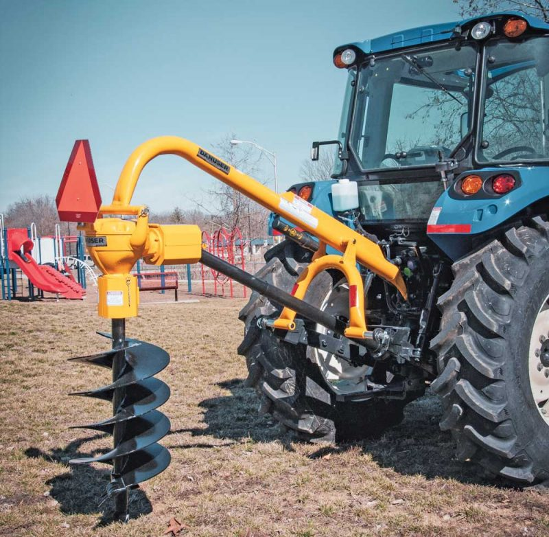 complete PTO auger system
