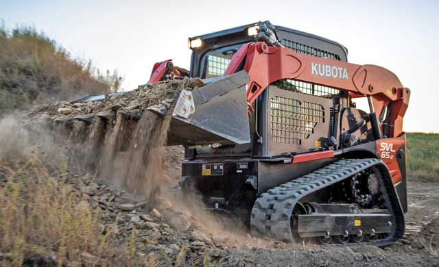 Kubota track loader