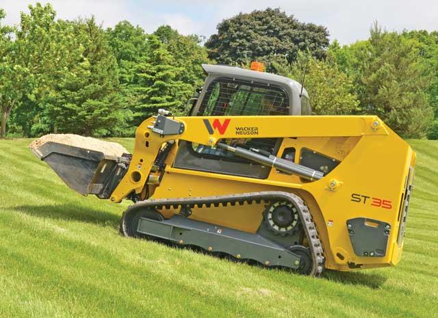 Wacker Neuson compact track loader