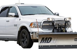 Buyers Products Announces New Generation of  SnowDogg MDII and VMDII Snow Plows for Half-Ton Pickup Trucks