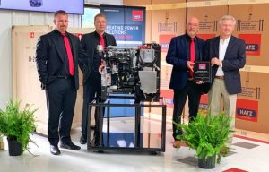 Editor at Large: Visiting Distributor Continental Engines, Which Won the First Hatz 3H50TIC Diesel Off the Production Line