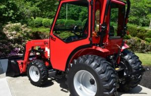 Curtis Industries Introduces All-Steel Cab for the Mahindra 1626 Compact Tractor