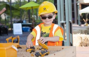 Friday Fun: Kids Can Explore Farming and Construction at the John Deere Pavilion's Learn & Play Day, Saturday, July 20