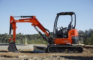 Kubota U35-4 Tight Tail Swing Compact Excavator Wins 2019 EquipmentWatch Highest Retained Value Award