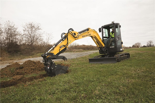 New Holland excavator