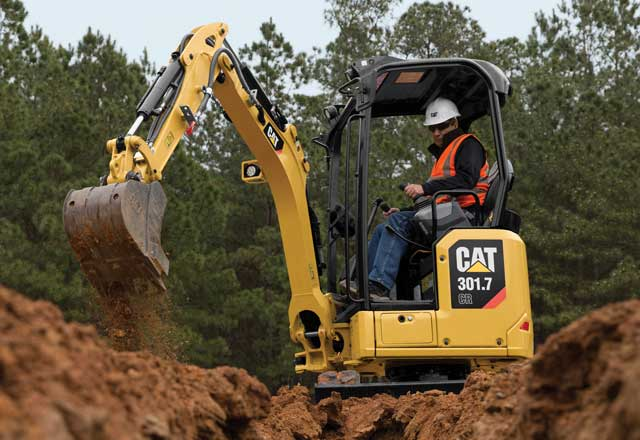 Cat Next Generation Mini Excavators