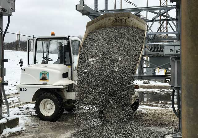 concrete dumper