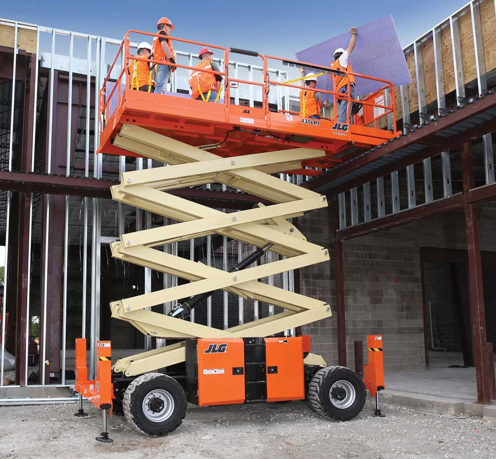 JLG Rough Terrain Scissor Lift