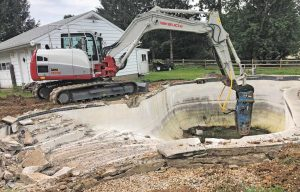 Pool Removal: Carroll Bros. Are Experts at Providing Less Splash to Properties