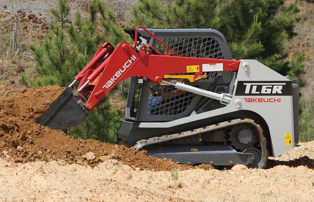 Takeuchi TL6R Compact Track Loader