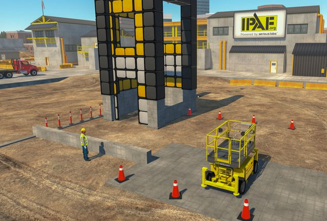 Serious Labs Developing VR Training Modules for IPAF PAL+ Advanced