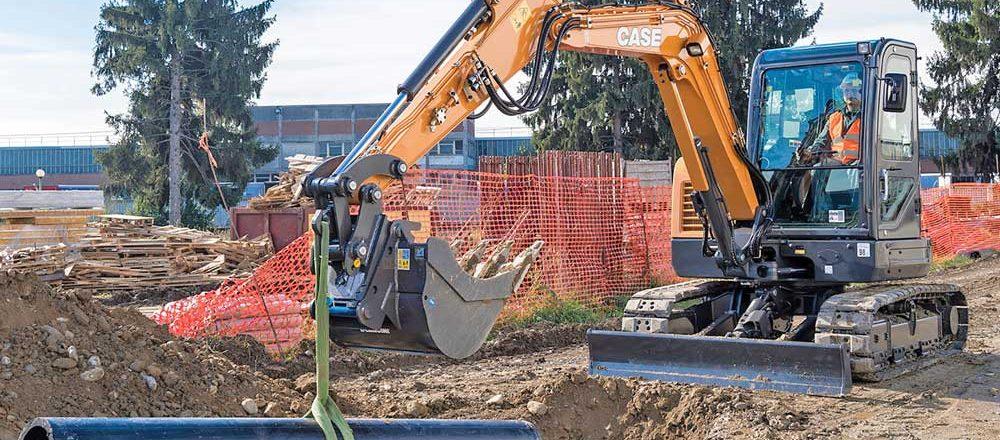 Case excavator