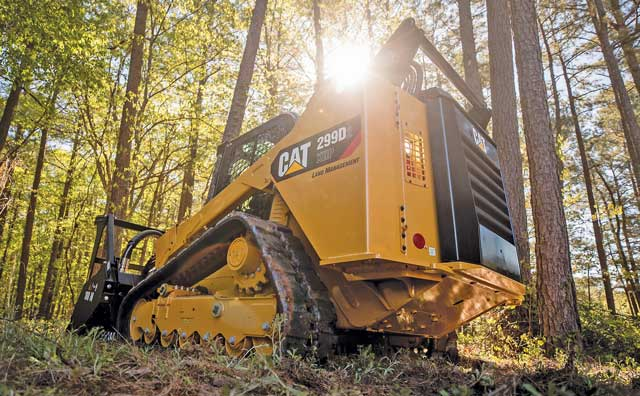 Cat's New 299D2 XHP Land Management Compact Track Loader