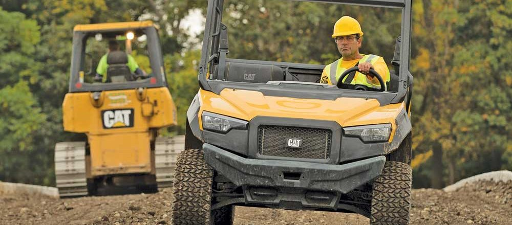 Caterpillar utility vehicle