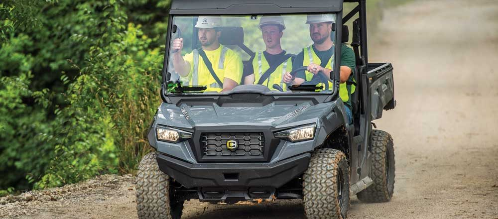 Cushman utility vehicles