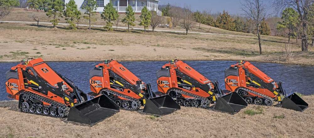 Ditch Witch compact tool carriers