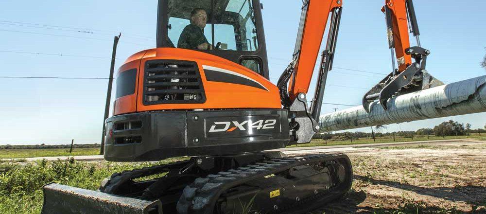Doosan Infracore North America excavator