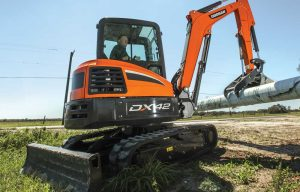 Doosan Infracore North America Excavators Summarized — 2019 Spec Guide