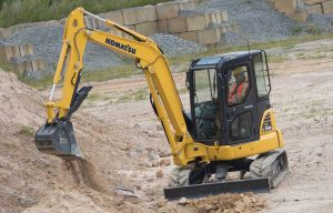 Komatsu America Excavators Summarized — 2019 Spec Guide