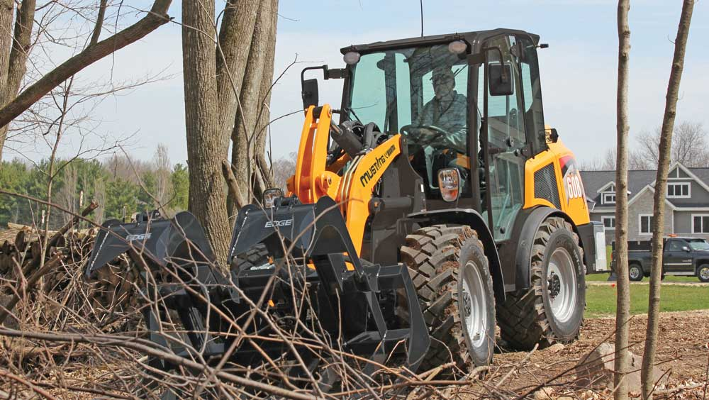 Mustang by Manitou wheel loader