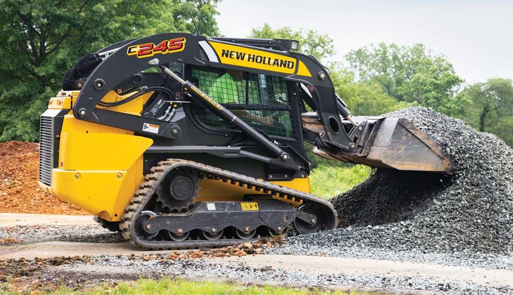New Holland track loader