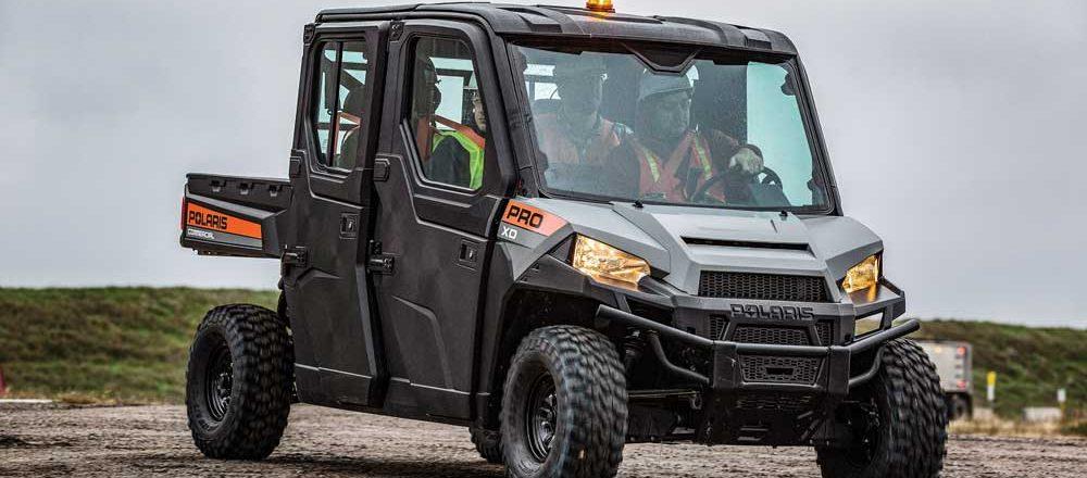 Polaris utility vehicle