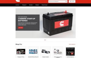 Cummins Launches Online Store, shopcummins.com, for United States Customers