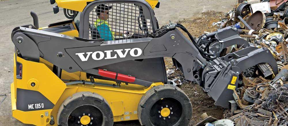 Volvo skid steer