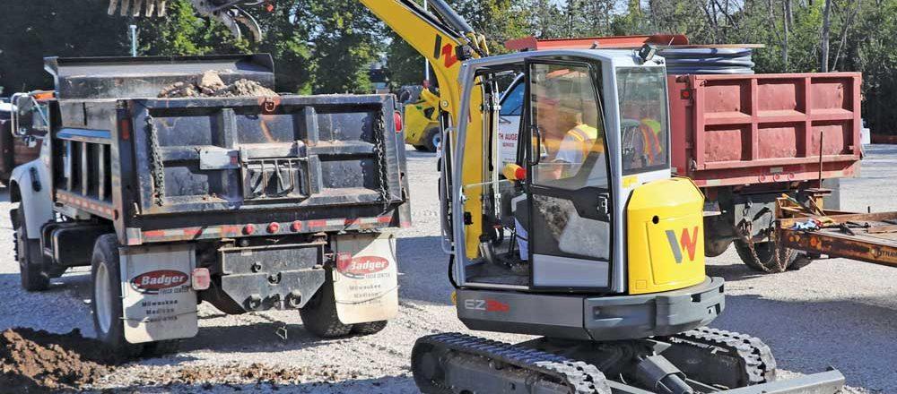 Wacker Neuson excavator