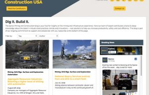 Epiroc USA Launches Mining and Construction Blog