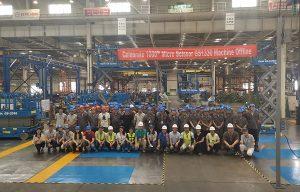 Genie Celebrates Manufacturing Milestone