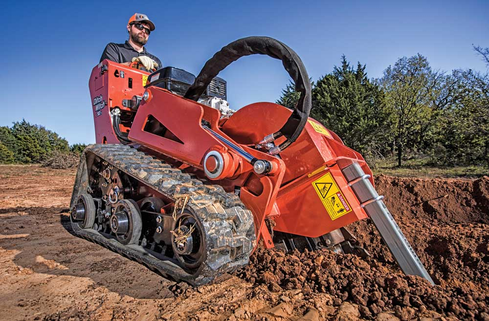 Ditch Witch C12X trencher