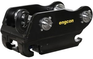 Engcon switching to safer hitch