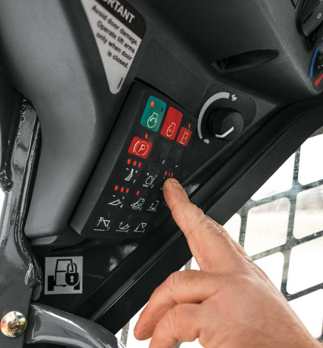 Deere's EH control system