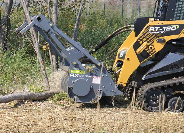 Loftness Battle Ax Mulching Attachment