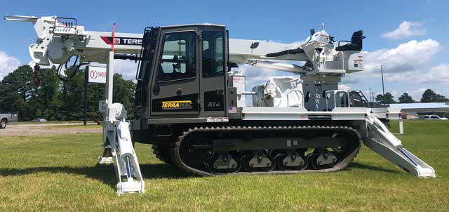 Terramac Rubber Tracked Crawlers