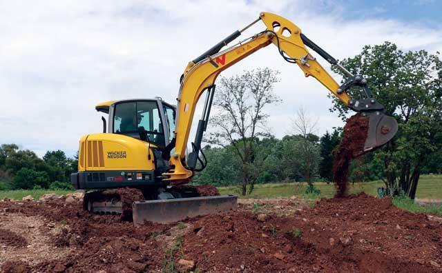 Wacker Neuson's ET65 excavator