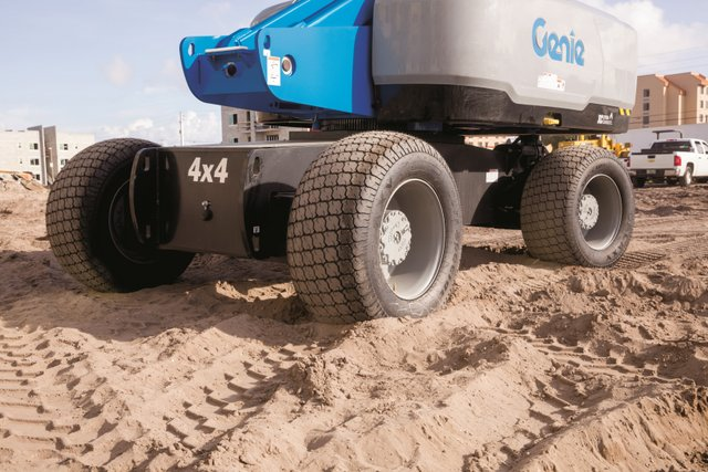 Genie High Float tires NEW