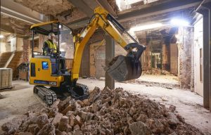 JCB's Electric Mini Excavator Is Now Available in North America