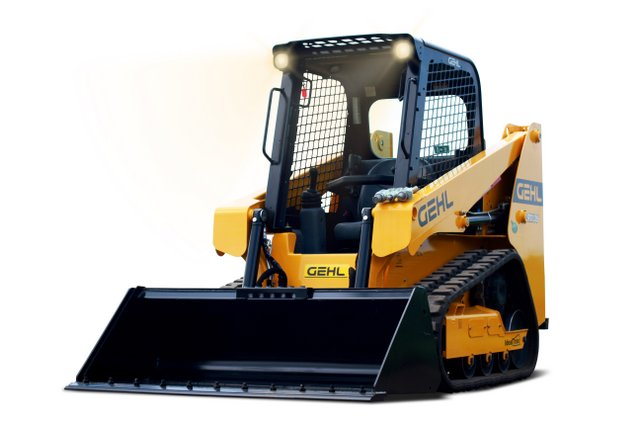 Lights On gehl track loader studio