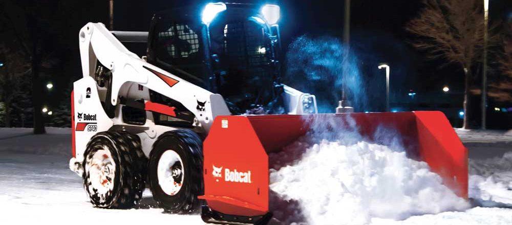 Bobcat Snow Pusher Attachment